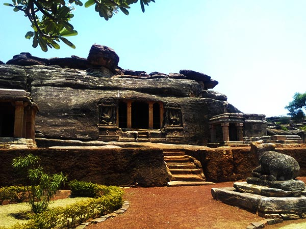 Things to do in Badami - the sandstone cave temples