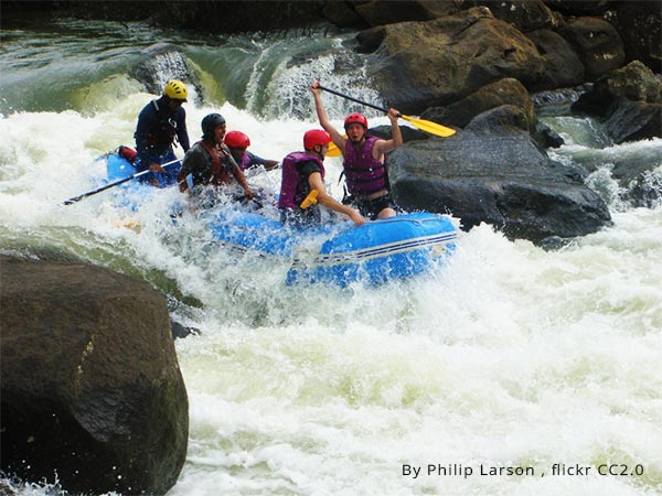 River Rafting - One of the adventurous things to do in Coorg