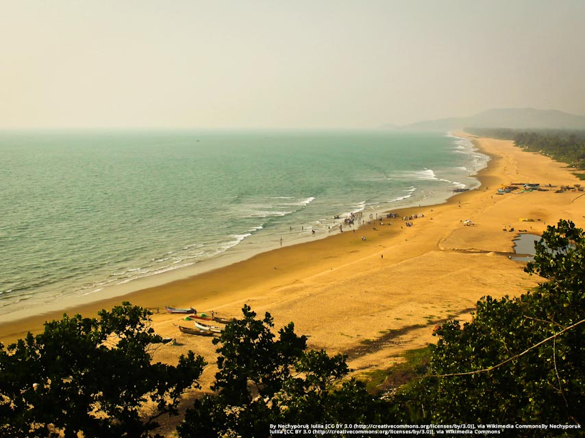 Among the most important things to do in Gokarna is to laze at the beach