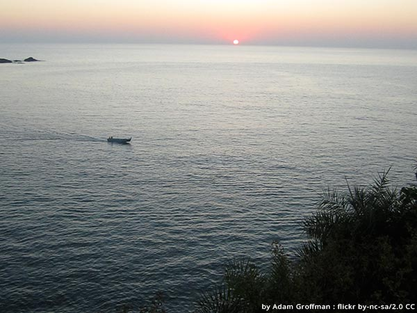 Amongst things to do in Gokarna, watch the sunset