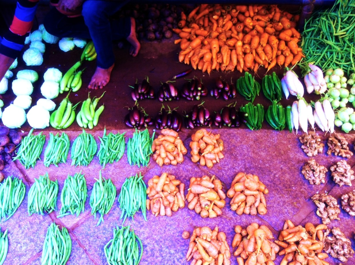 Mysore Vegetable Market Devaraja
