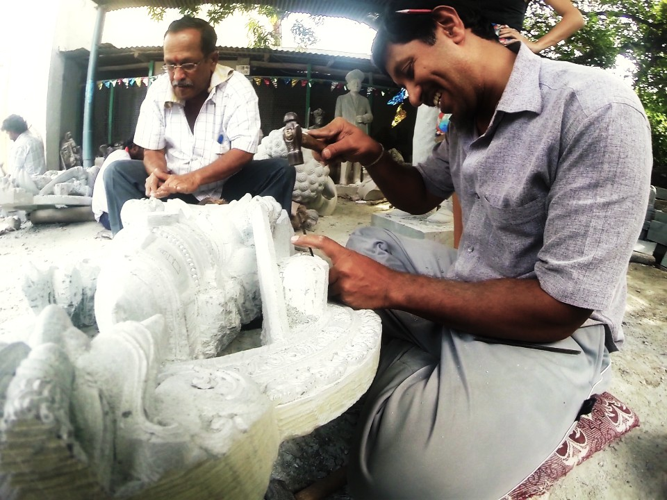 Stone Carvers of Mysore