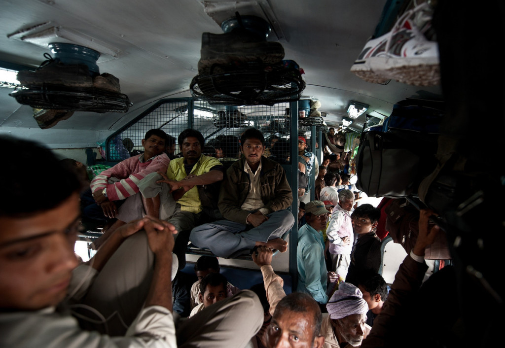 Travelling in Trains in India