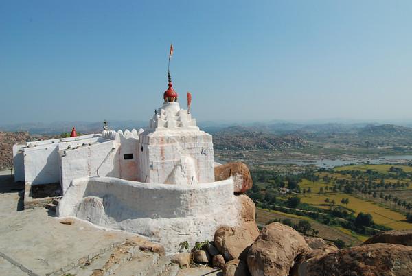 Anjanadri or Monkey Temple in Hampi