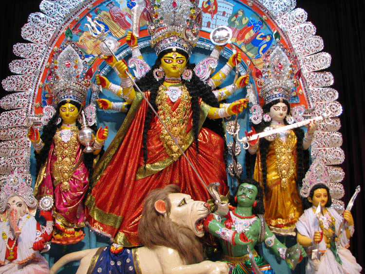 Easily the most scariest deity in the Indian pantheon. Parvati, Durga, Chamundi, Kali, Call her whatever you want but DO NOT mess with her when you visit the temples in India