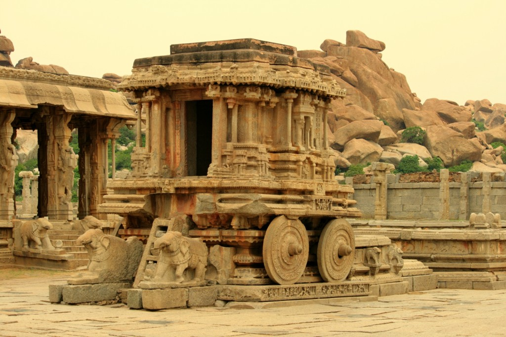 The Iconic Stone Chariot of Hampi