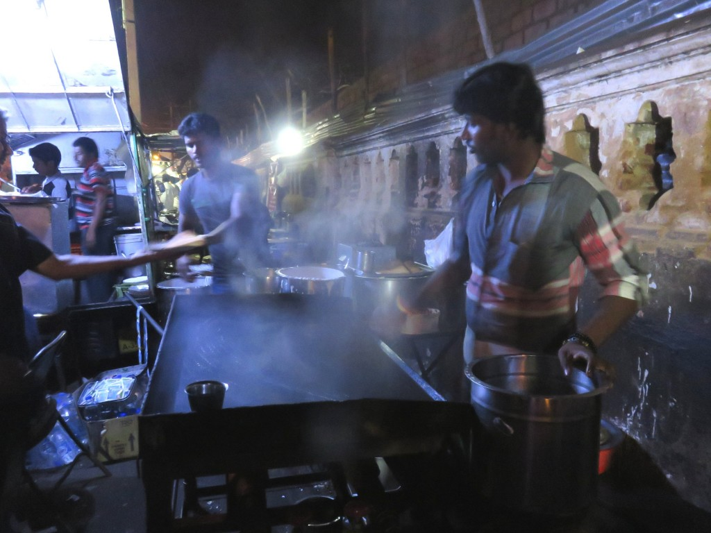Sample some street food while travelling in India