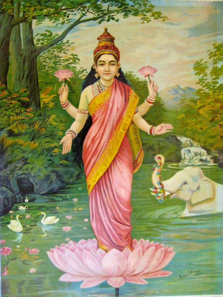 She is quite popular, cos she is the Goddess of Wealth. Seek her blessings when you travel to the temples in India