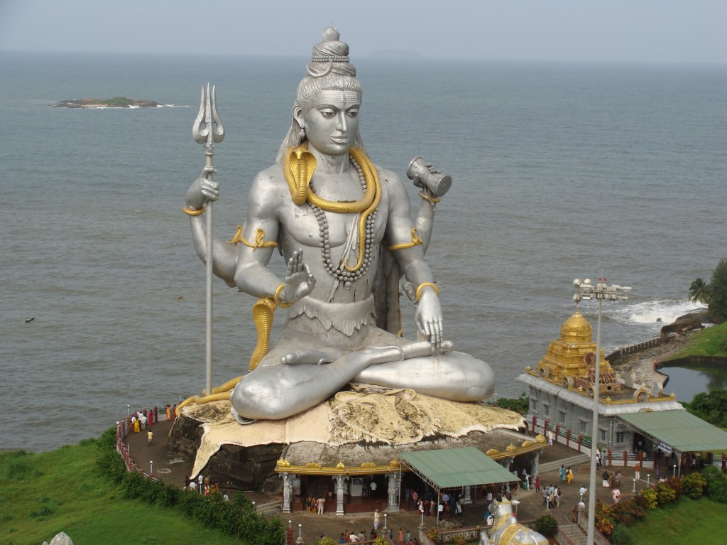 Shiva is the chief destroyer in the pantheon and will greet you at most places while travelling across temples in India