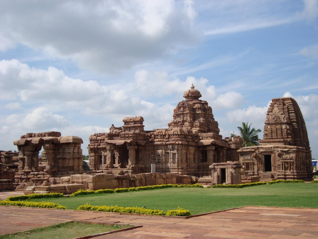 Mallikarjuna and Kashivishwanatha temples at Pattadakal