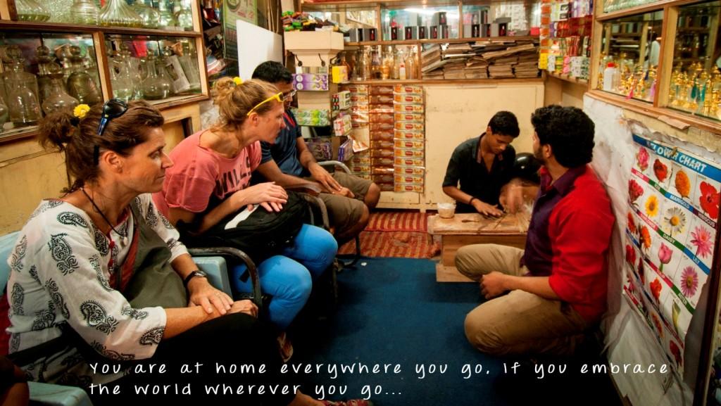 You travel around India with goMowgli