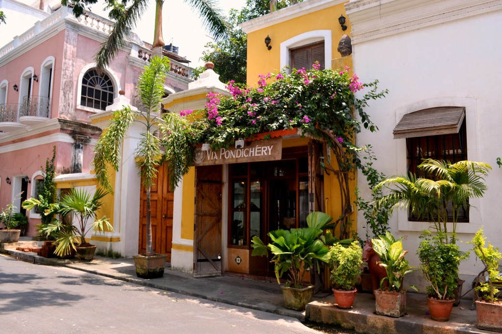 There is a bit of French sophistication in our South India Tours @ Pondicherry