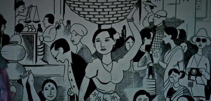 Things to do in Goa - visit a Mario Miranda gallery