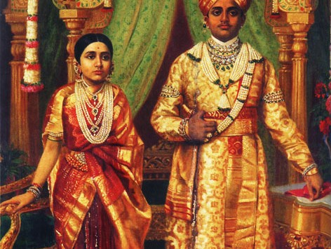 Traditional attire of Mysore royal family