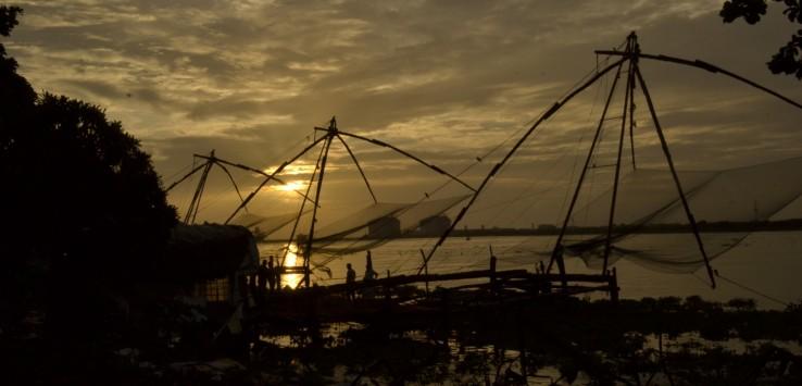 Guide to Kochi - iconic Chinese fishing nets