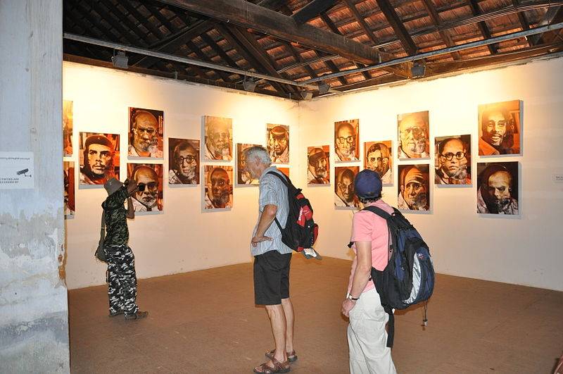 Guide to Kochi needs a mention of the Kochi Muziris Biennale - a festival of art