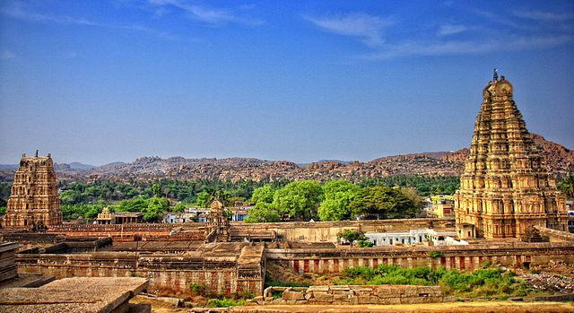 A must in Hampi guide is the Virupaksha temple