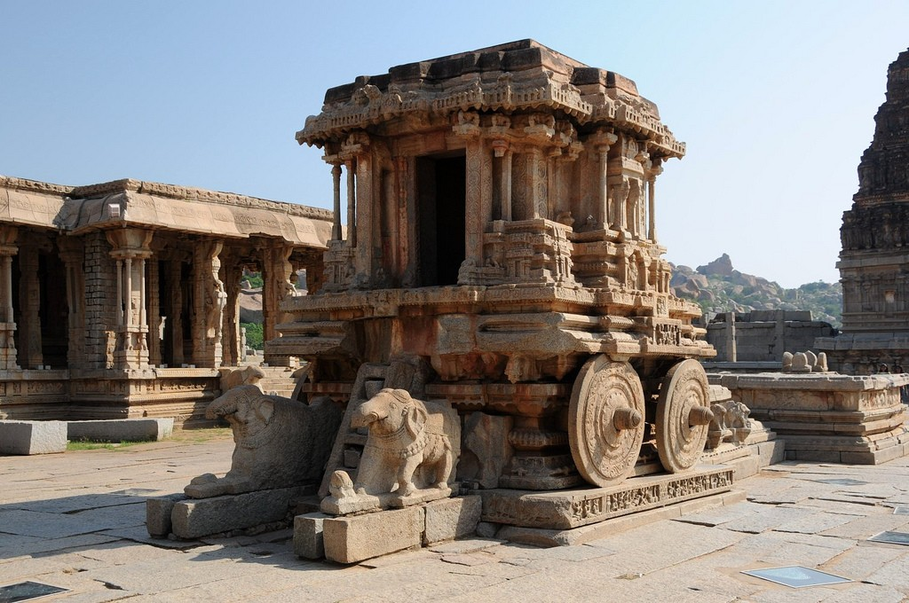 Hampi guide and Vittala temple re synonymous