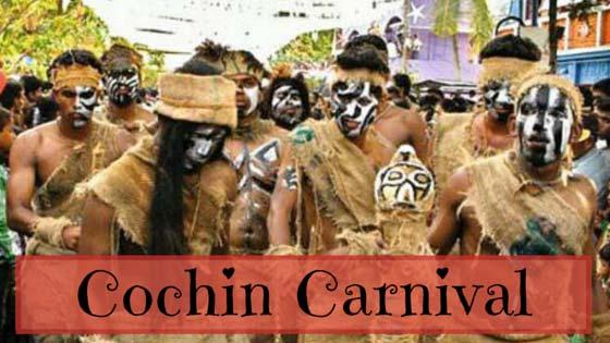 Cochin carnival festivities