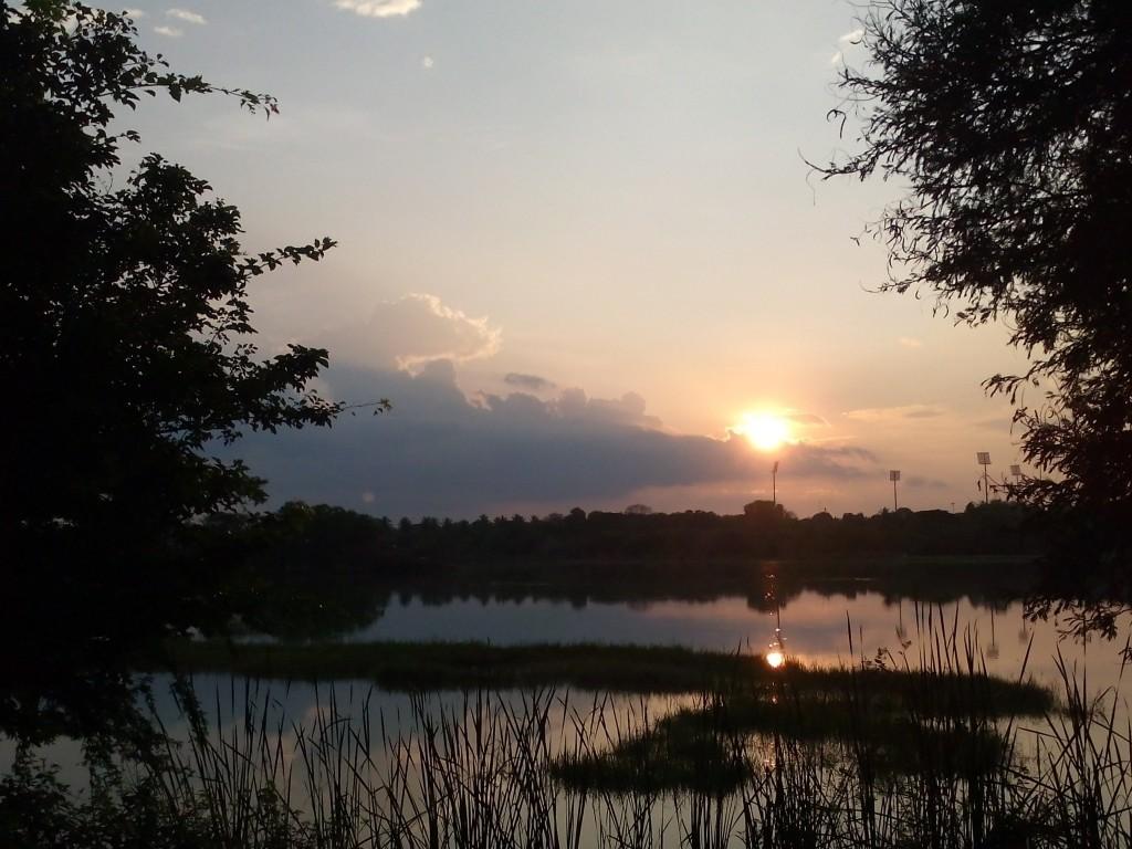 Free things to do in Mysore - walk around Kukkarahalli Lake