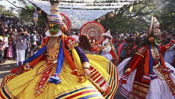 Performances in Cochin Carnival