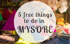 All things in Mysore that are free to do
