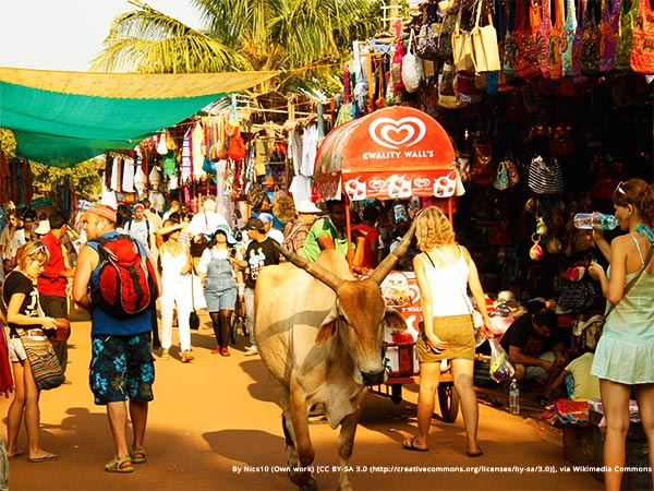Things to do in Goa - Shop at the flea market