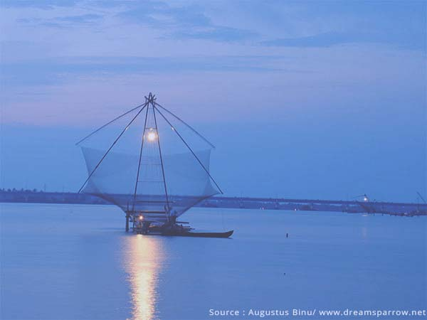 Things to do in Cochin - Watch the Chinese Fishing Nets at work