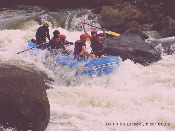 River rafting - a must do on a Coorg Tour