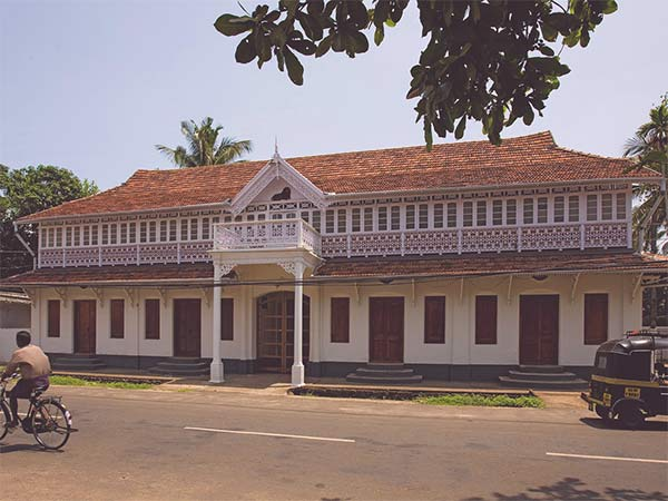 Kerala's architecture is a mix of Indo-European styles