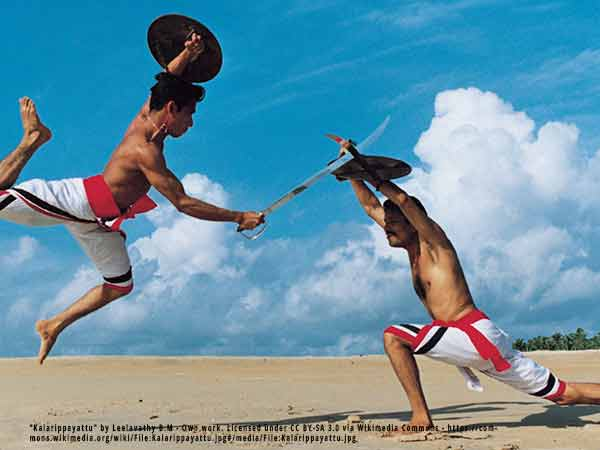 Witness Kalaripayattu - A spectacular martial arts experienced on the Kerala hop on hop off tour