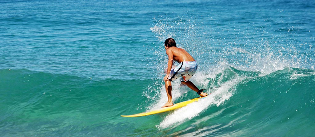 Surfing is a must do if you seek adventure tours in India